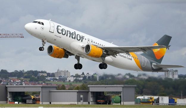 Linie lotnicze Condor otrzymają 550 mln euro pomocy finansowej /RONALD WITTEK /PAP/EPA