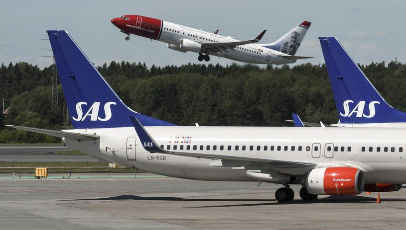 Linie lotnicze SAS /AFP