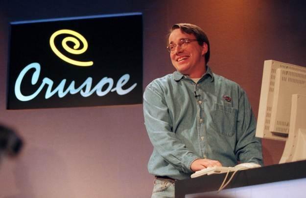Linus Torvalds w roku 2000. Wtedy myślano, że Linux może być konkurencją dla Windows /AFP