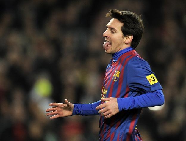Lionel Messi był najlepszy przed rokiem /AFP