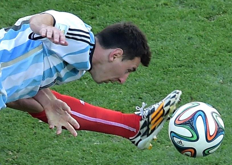 Lionel Messi ciągnie grę reprezentacji Argentyny na MŚ w Brazylii /AFP