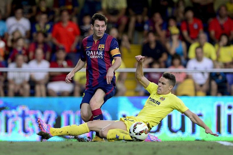 Lionel Messi doznał kontuzji w meczu z Villarreal /AFP