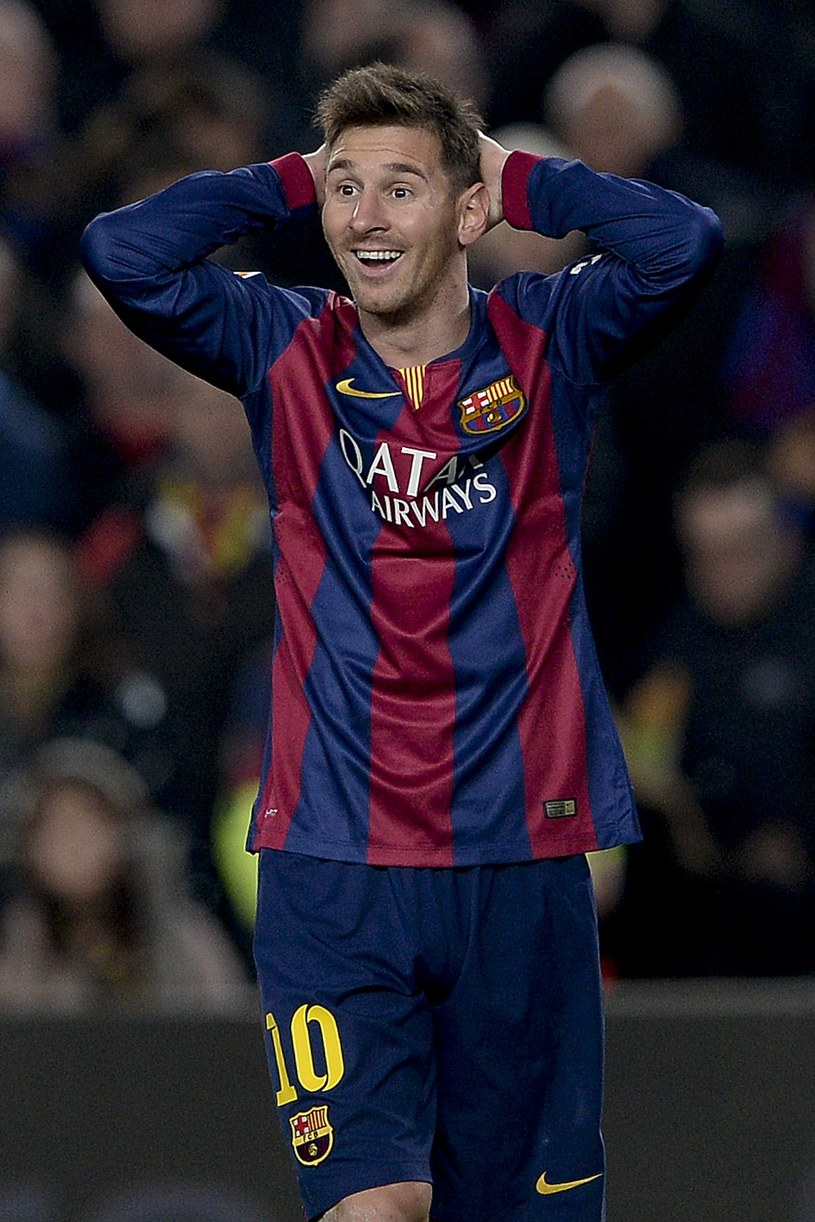Lionel Messi, gwiazda Barcelony /AFP