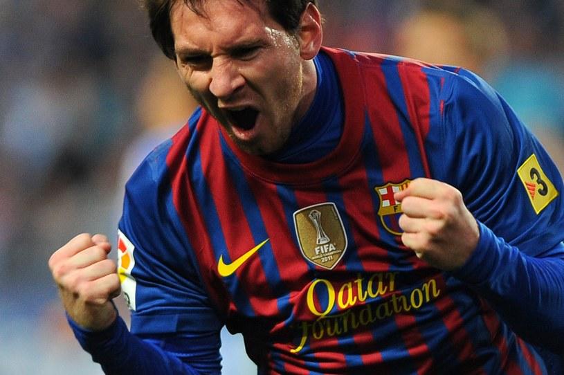 Lionel Messi, gwiazda FC Barcelona /AFP
