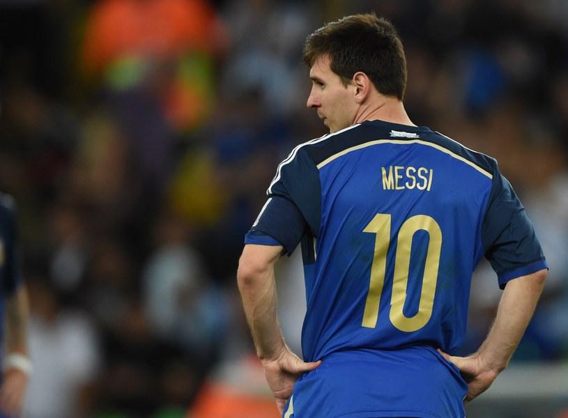 Lionel Messi, gwiazda reprezentacji Argentyny /AFP