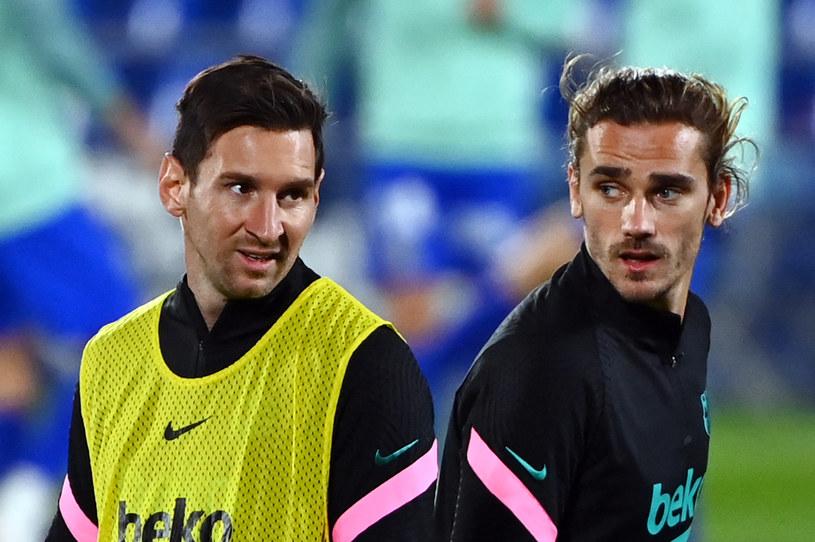 Lionel Messi i Antoine Griezmann /GABRIEL BOUYS /AFP