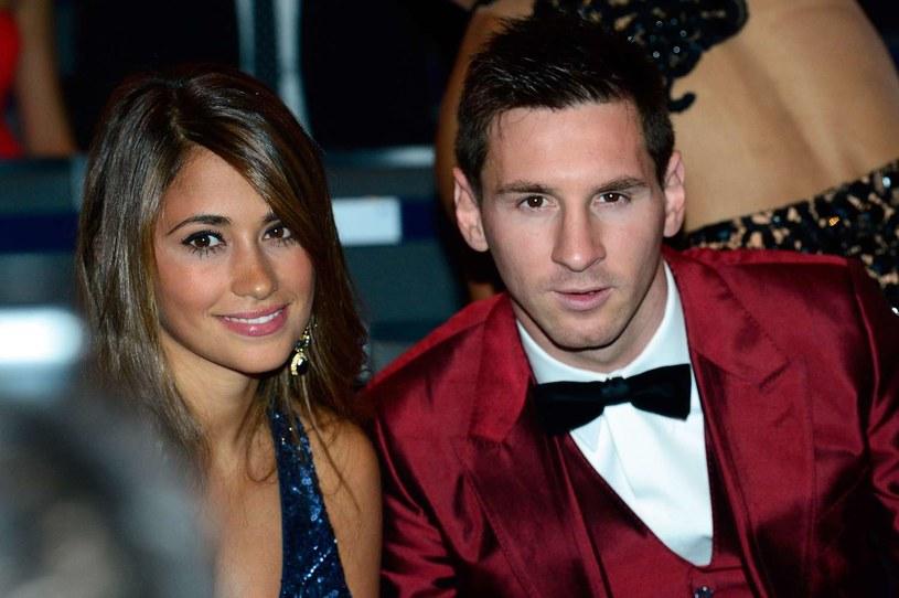 Lionel Messi i Antonella Roccuzzo /AFP