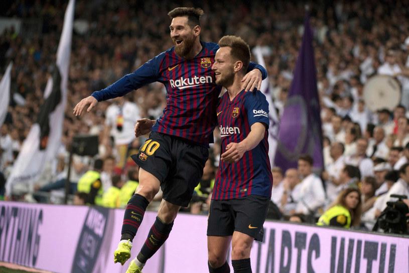 Lionel Messi i Ivan Rakitić /CURTO DE LA TORRE /East News