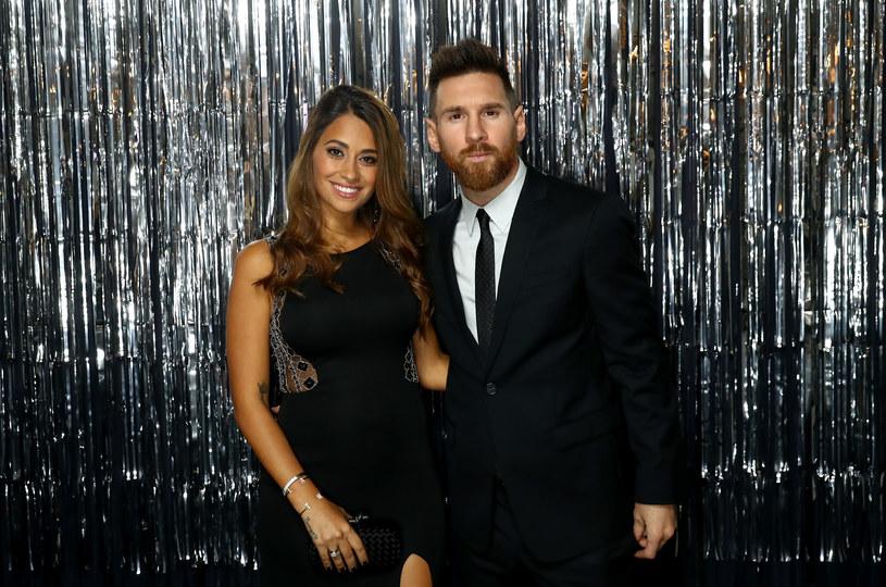 Lionel Messi i jego żona Antonella Roccuzzo /Getty Images