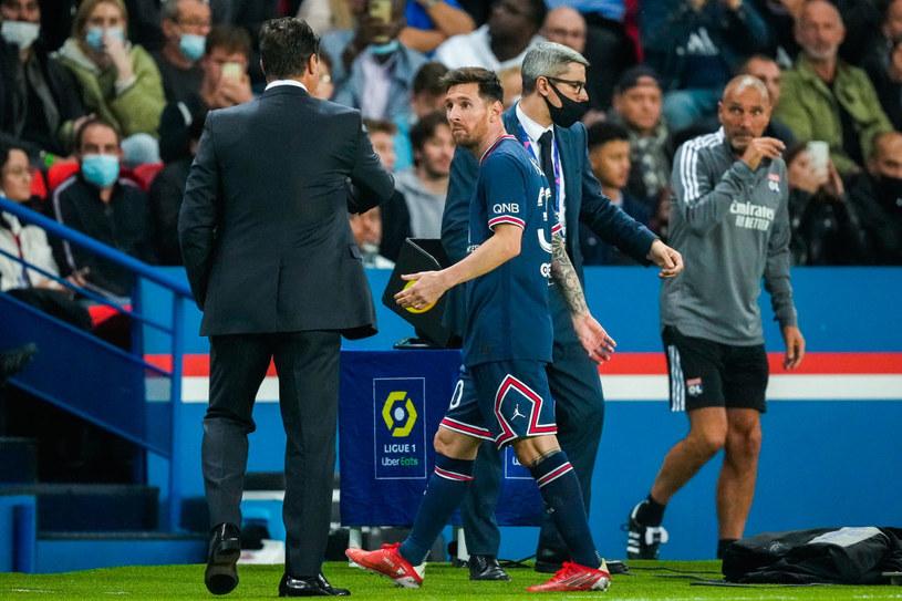 Lionel Messi i Mauricio Pochettino /Geert van Erven/BSR Agency /Getty Images