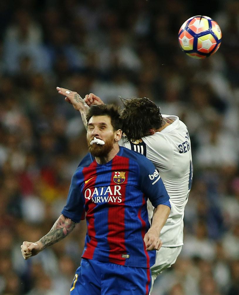 Lionel Messi i Sergio Ramos /AFP