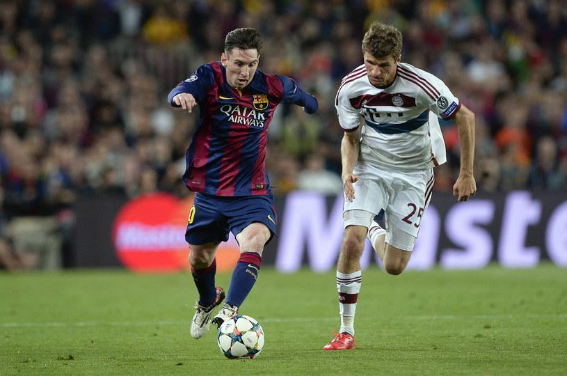 Lionel Messi i Thomas Mueller /JOSEP LAGO /AFP