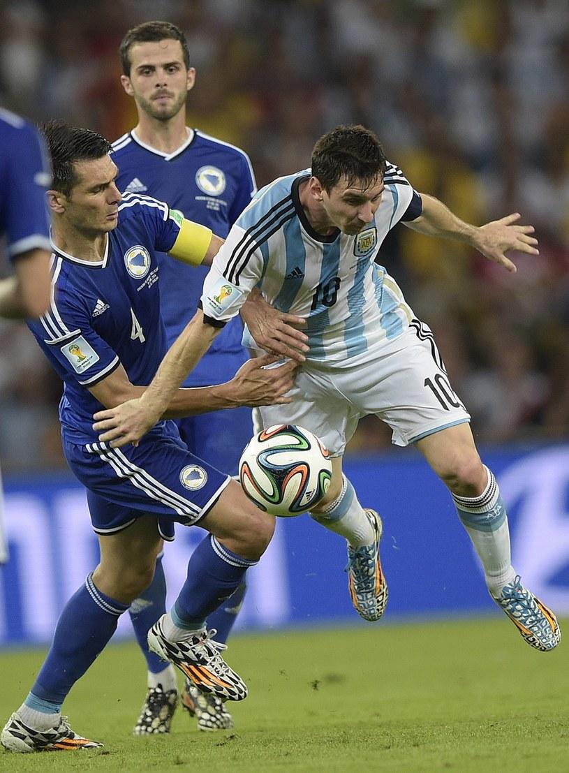 Lionel Messi, kapitan reprezentacji Argentyny /AFP