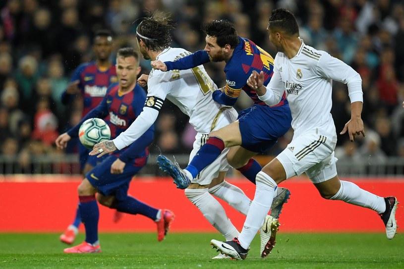 Lionel Messi kontra Sergio Ramos /AFP