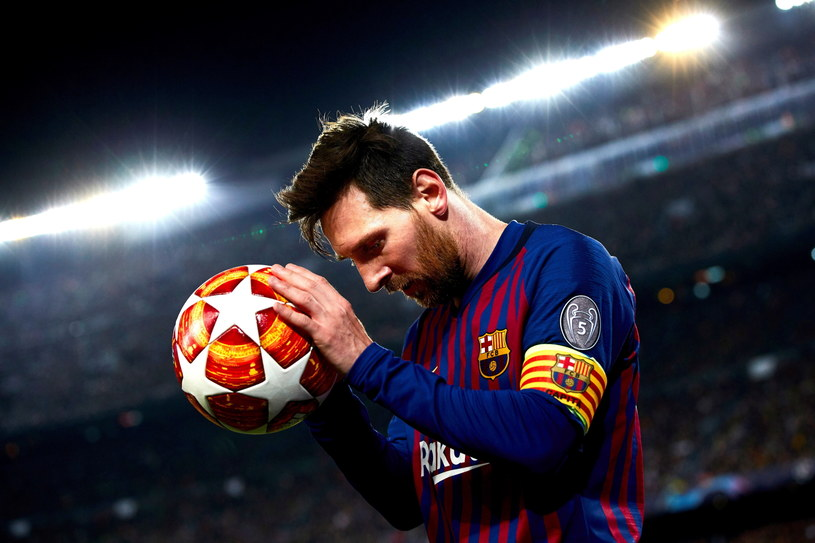 Lionel Messi, lider Barcelony /PAP/EPA