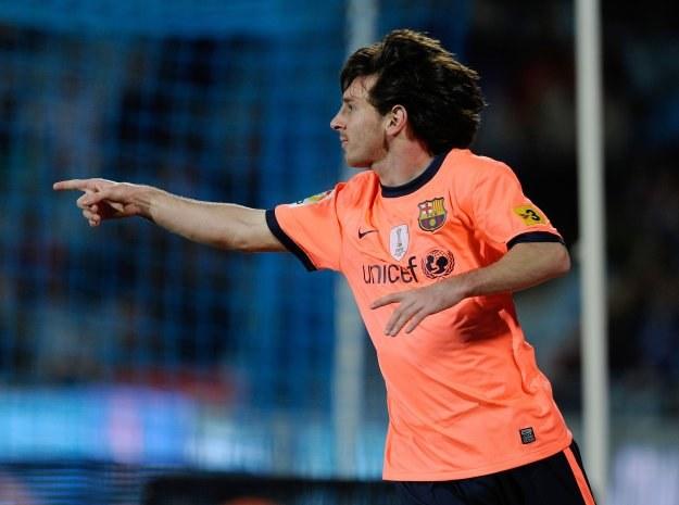 Lionel Messi miał udział przy każdym golu Barcelony strzelonym Getafe /AFP