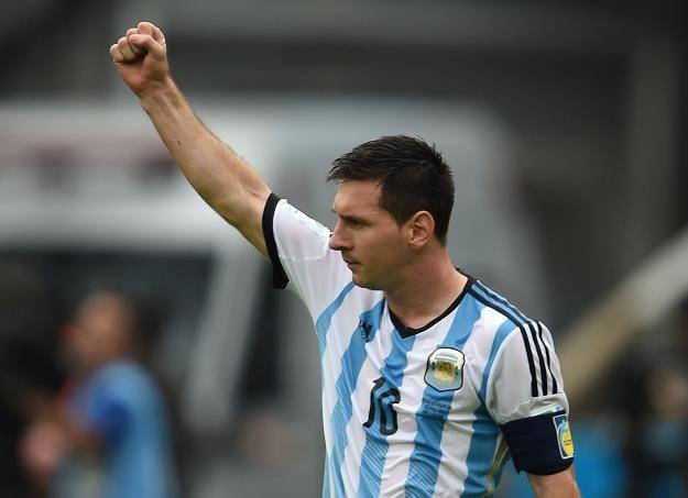 Lionel Messi na MŚ w Brazylii /AFP
