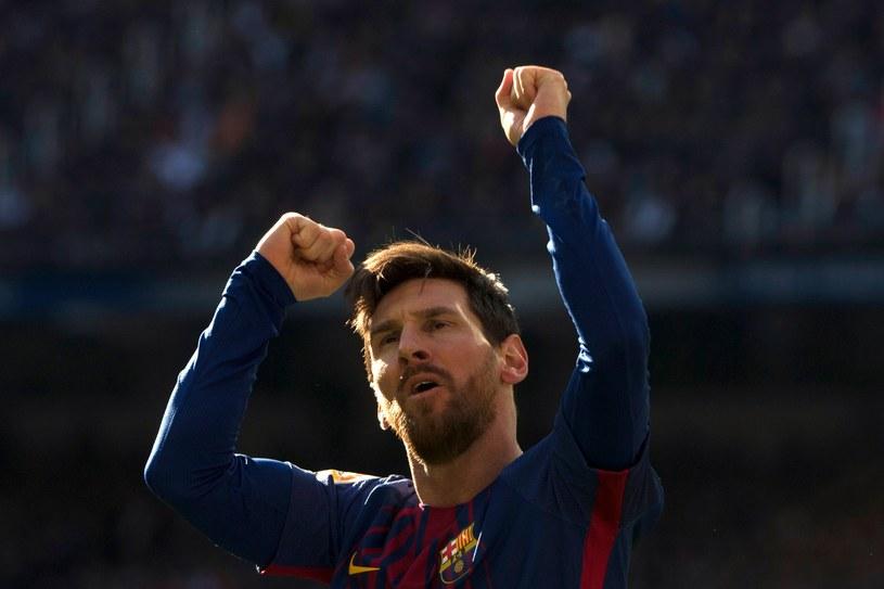Lionel Messi na Santiago Bernabeu strzelił gola i asystował /AFP