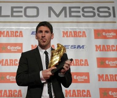 """Lionel Messi odebrał """"Złoty But"""""""