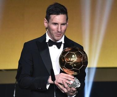 """Lionel Messi po raz piąty ze """"Złotą Piłką"""""""