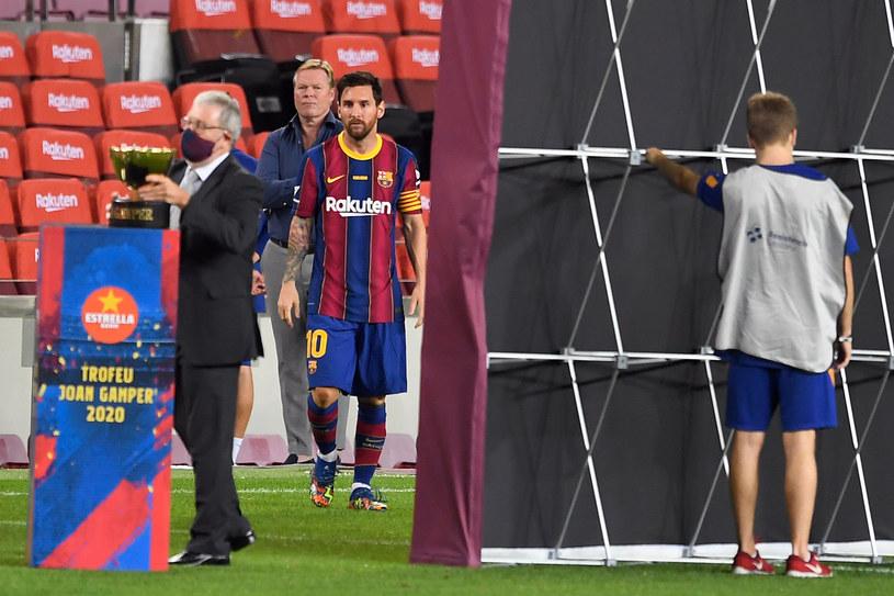 Lionel Messi pod wodzą nowego trenera Ronalda Koemana /AFP