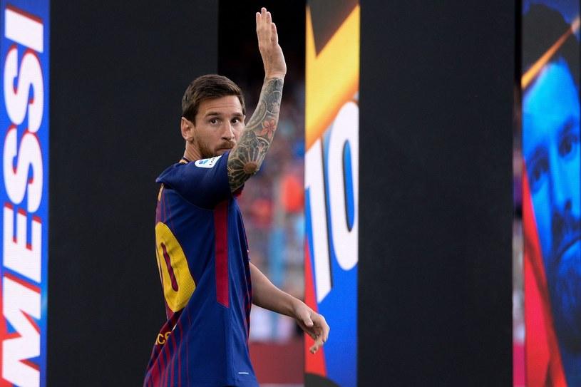Lionel Messi pożegna się z Barceloną? /AFP