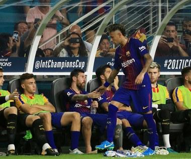 Lionel Messi pożegnał Neymara w Barcelonie