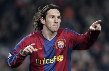 Lionel Messi przypieczętował zwycięstwo /AFP