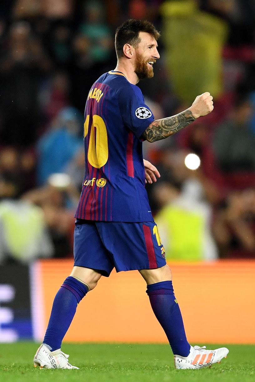 Lionel Messi strzelił 100. gola w europesjkich pucharach /David Ramos /Getty Images