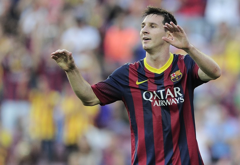 Lionel Messi strzelił dwa gole w meczu z Levante /AFP