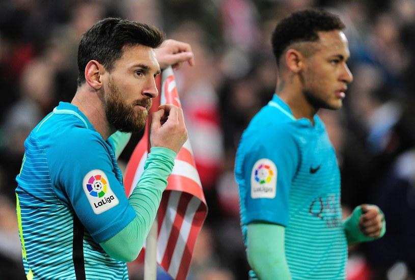 Lionel Messi strzelił gola, ale Barca przegrała z Athletic Bilbao /AFP