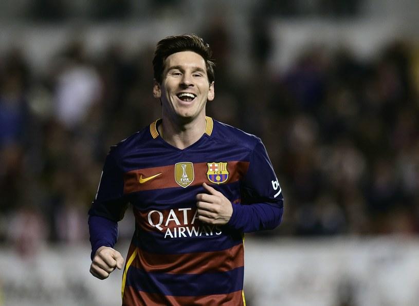 Lionel Messi strzelił trzy gole Rayo Vallecano /AFP