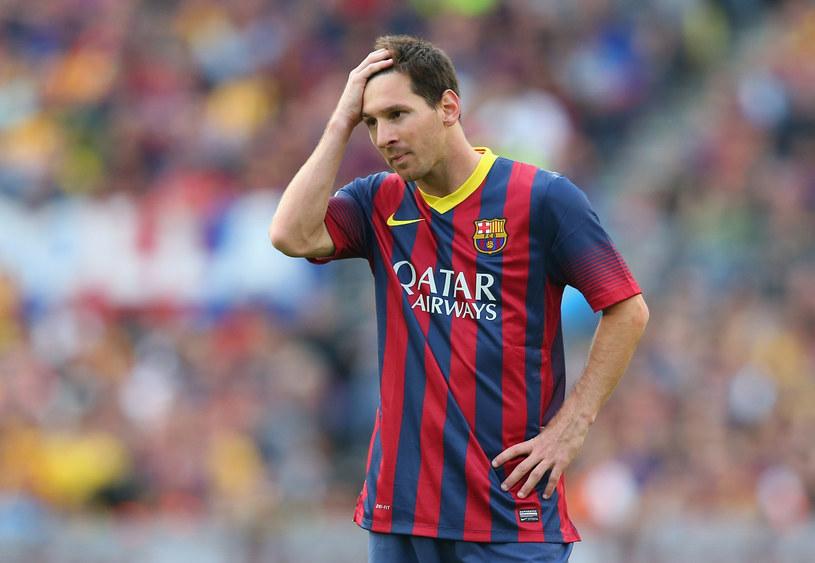Lionel Messi też nie zaliczy tego roku do udanych /Alex Livesey /Getty Images