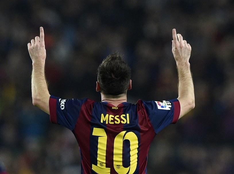 Lionel Messi w barwach Barcelony /AFP