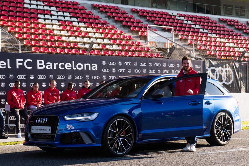 Lionel Messi wybrał Audi RS 6 /
