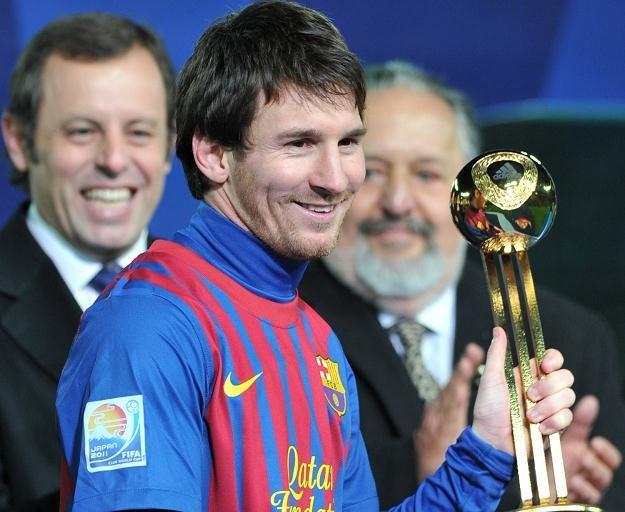 Lionel Messi z indywidualną nagrodą z klubowych mistrzostw świata /AFP