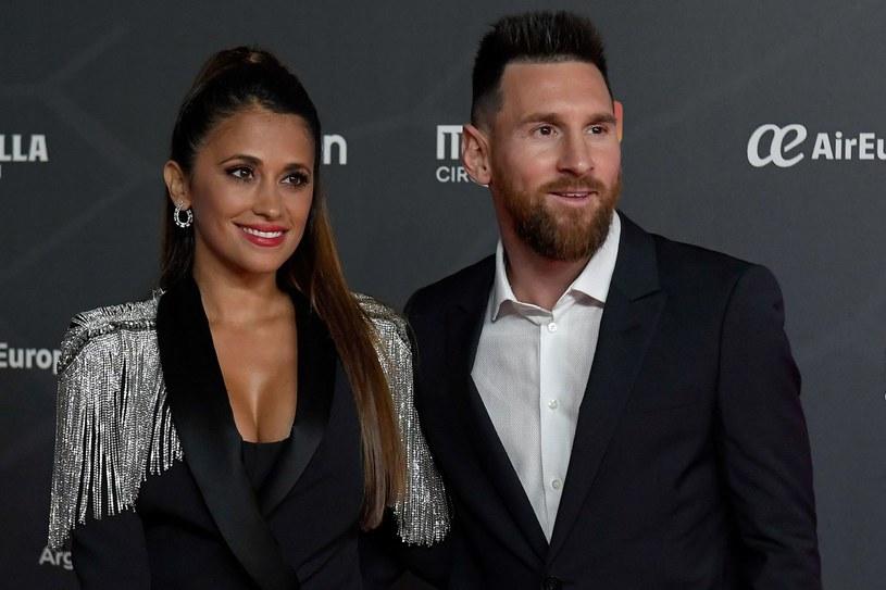Lionel Messi z żoną Antonellą Roccuzzo /AFP