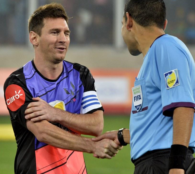 Lionel Messi zakończył serię meczów charytatywnych /AFP