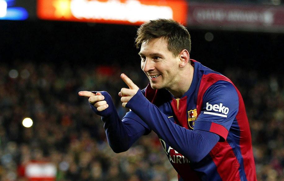 Lionel Messi /ALBERTO ESTEVEZ /PAP/EPA
