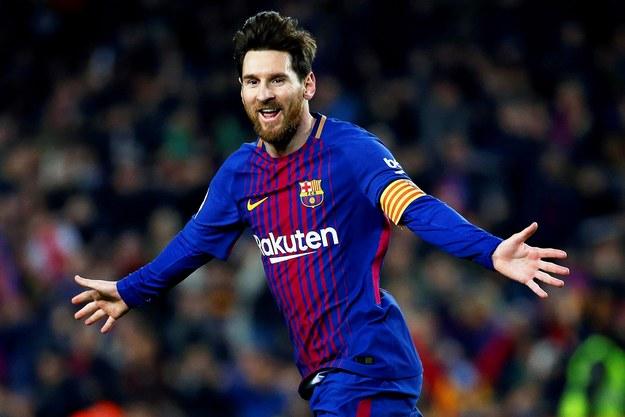 Lionel Messi /ENRIC FONTCUBERTA/EFE /PAP/EPA