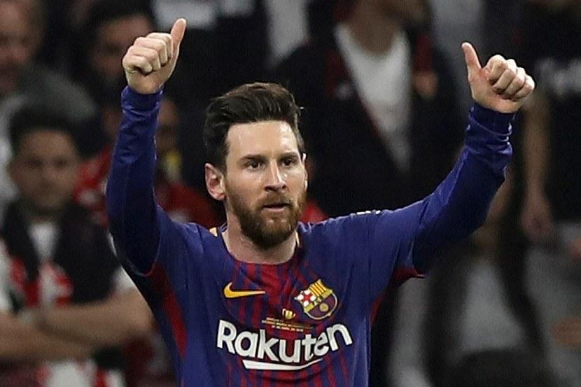 Lionel Messi /Ballesteros/EFE /PAP/EPA