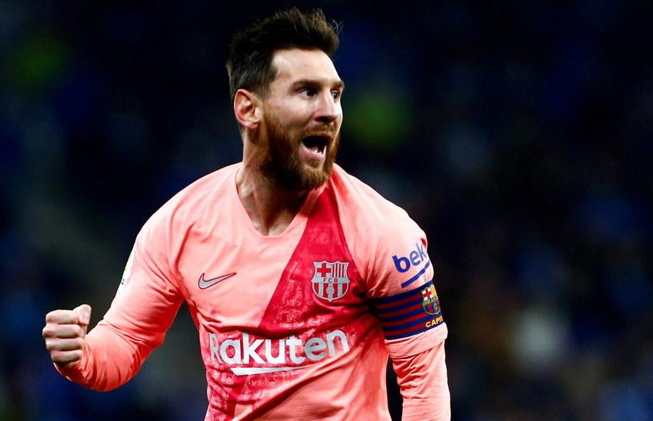 Lionel Messi /QUIQUE GARCIA /PAP/EPA