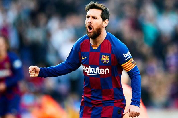 Lionel Messi /Alejandro Garcia /PAP/EPA