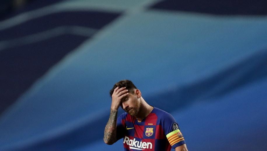 Lionel Messi /Manu Fernandez / POOL /PAP/EPA