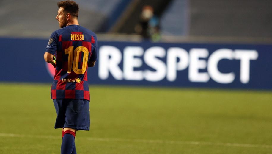 Lionel Messi /PAP/EPA/Rafael Marchante / POOL /PAP/EPA