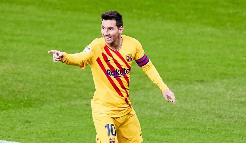 Lionel Messi /ZUMA/NEWSPIX.PL /Newspix