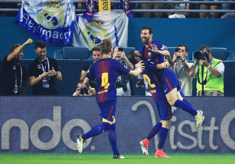 Lionelowi Messiemu strzelanie goli Realowi sprawa radość nawet w meczach towarzyskich. /AFP