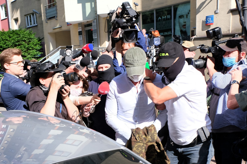 Lipcowa rozprawa aresztowa Sławomira Nowaka /SEBASTIAN WIELECHOWSKI / SUPER EXPRESS /East News