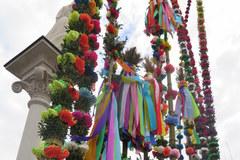 Lipnica Murowana: Konkurs palm wielkanocnych