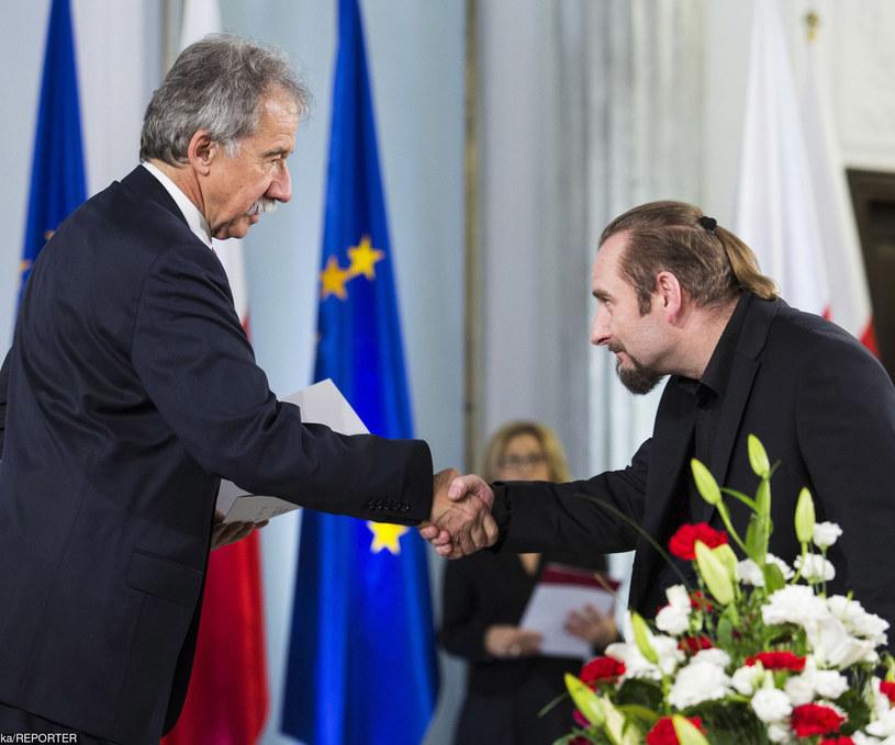 Liroy podczas mianowania na posła /Andrzej Hulimka  /Reporter